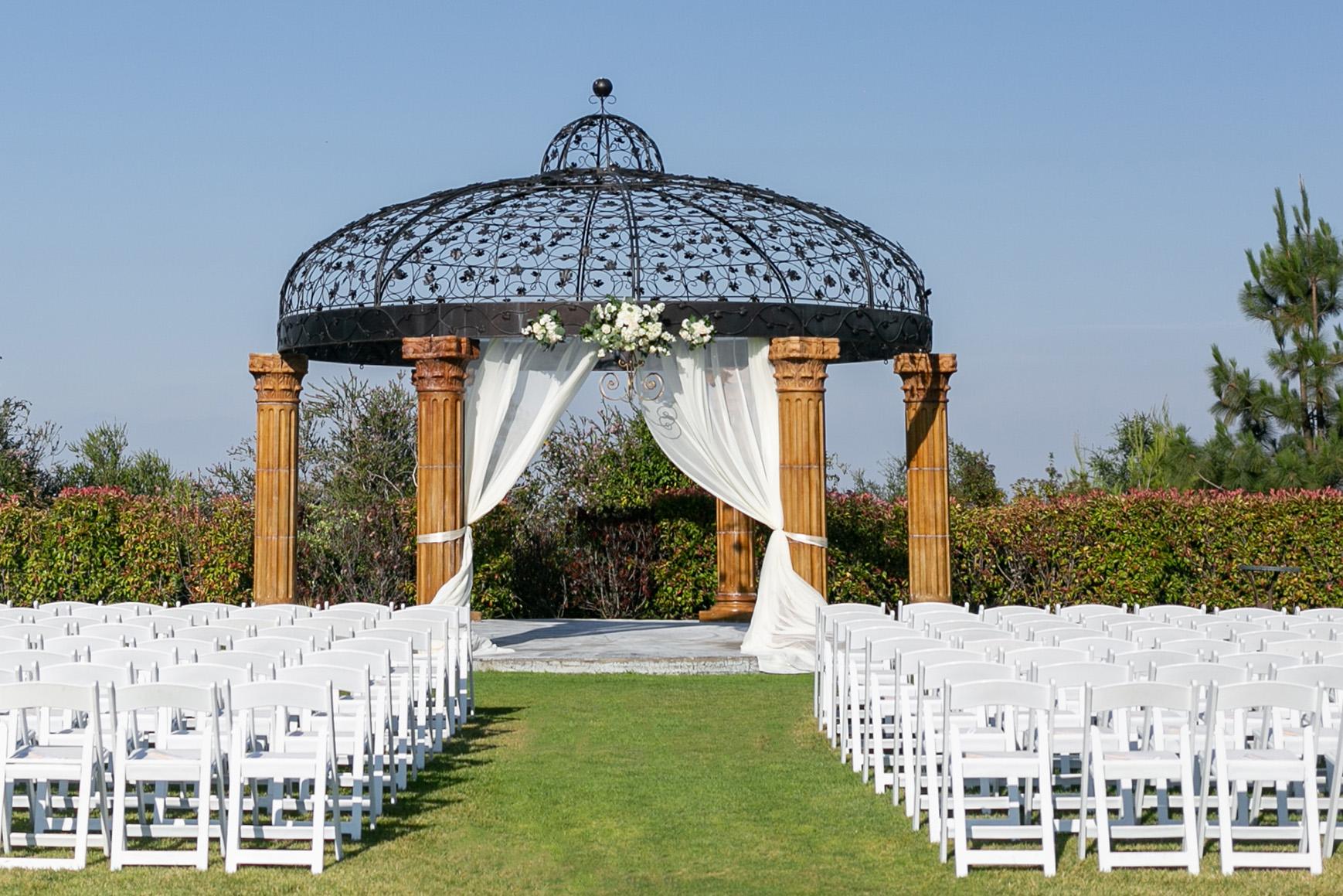 Ceremony site - Vellano - Chino Hills, California - San Bernardino County - Wedgewood Weddings