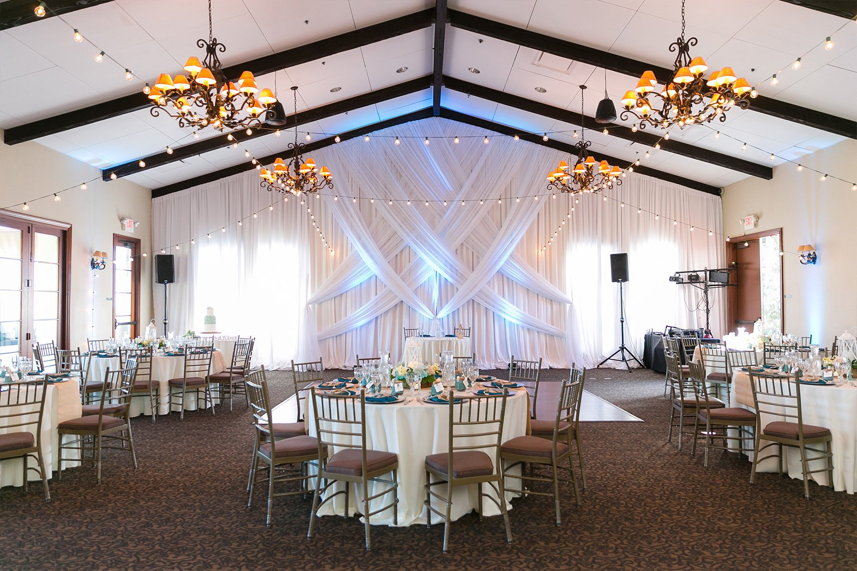Reception Room - San Clemente - San Clemente, California - Orange County - Wedgewood Weddings