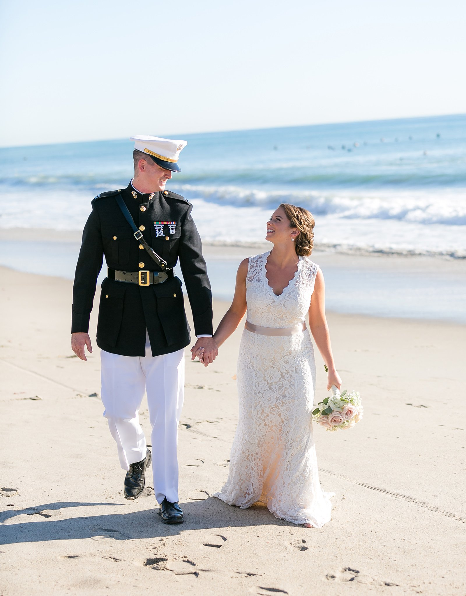 Couple by Cliffs - San Clemente - San Clemente, California - Orange County - Wedgewood Weddings