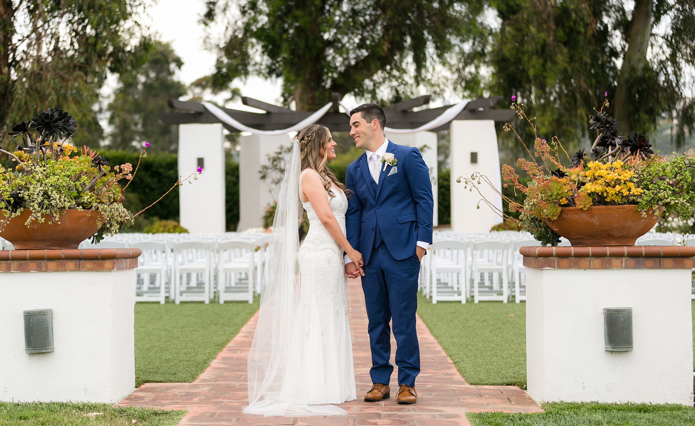 Outdoor wedding - San Clemente - San Clemente, California - Orange County - Wedgewood Weddings