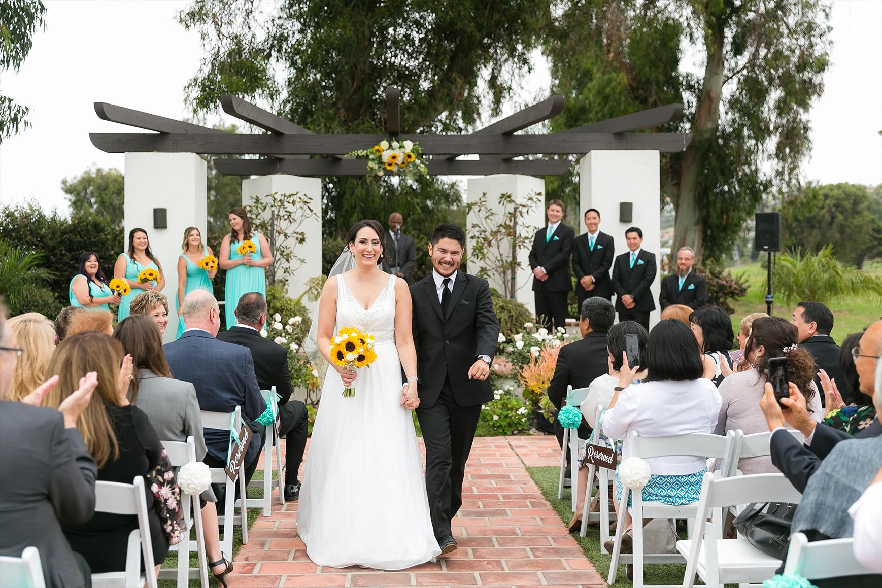 Wedding ceremony - San Clemente - San Clemente, California - Orange County - Wedgewood Weddings