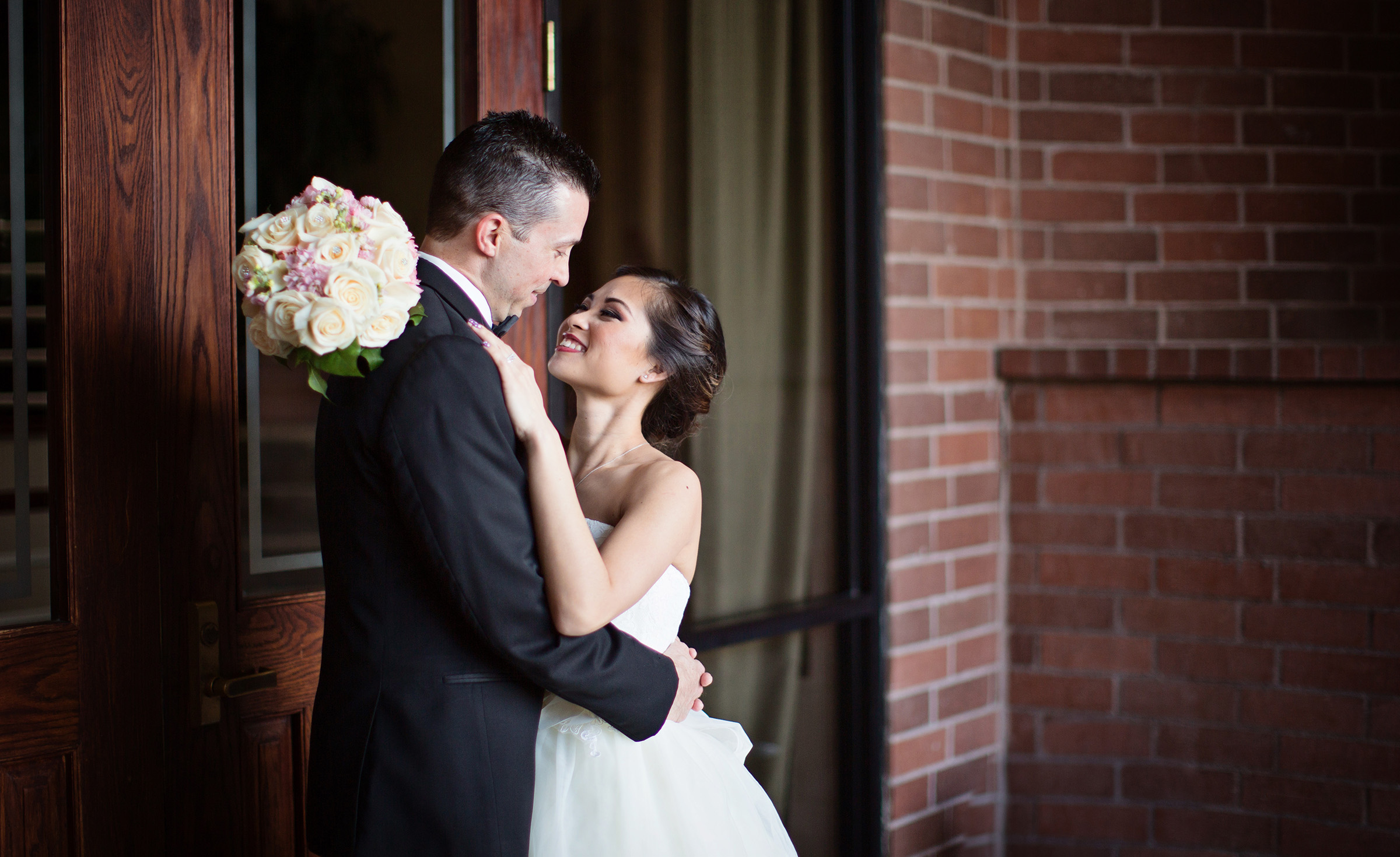 Happy couple - Sierra La Verne - La Verne, California - Claremont Area - Los Angeles County - Wedgewood Weddings