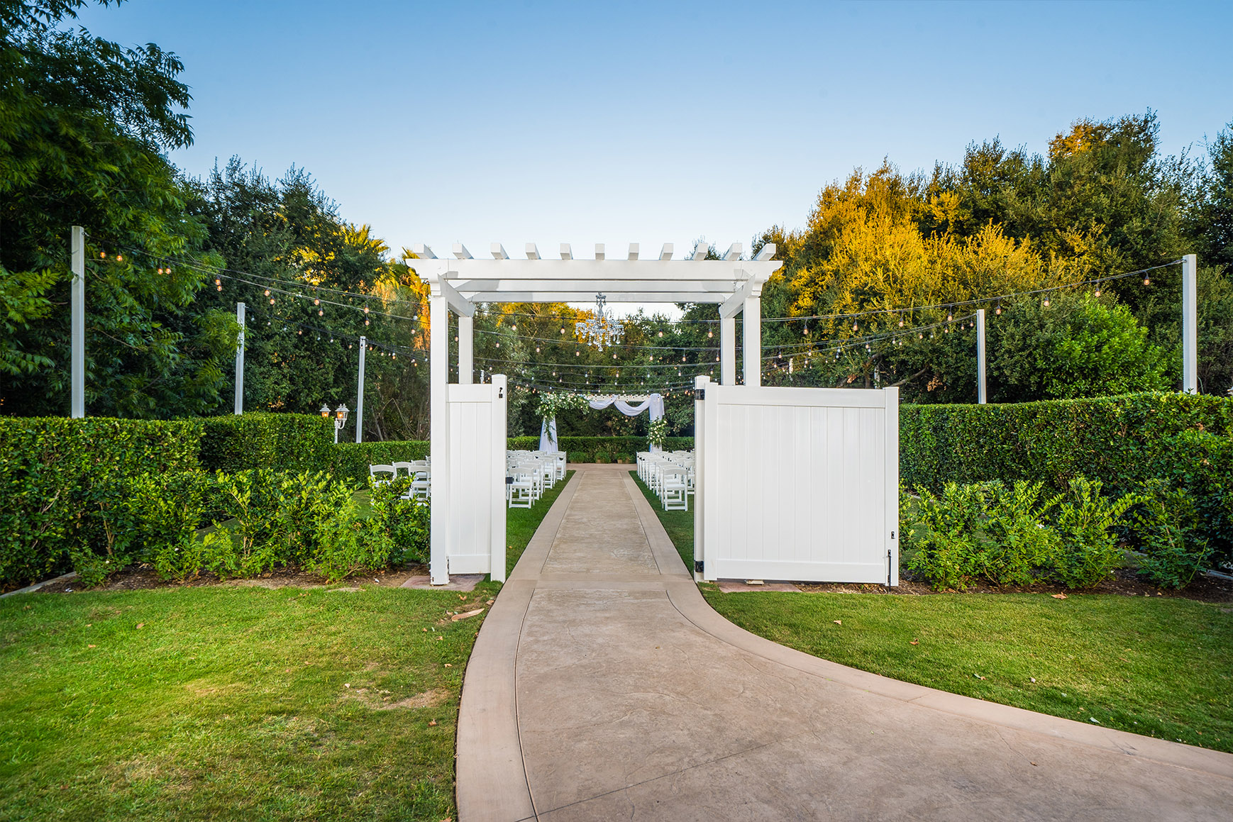 Secret garden ceremony - Sierra La Verne - La Verne, California - Claremont Area - Los Angeles County - Wedgewood Weddings