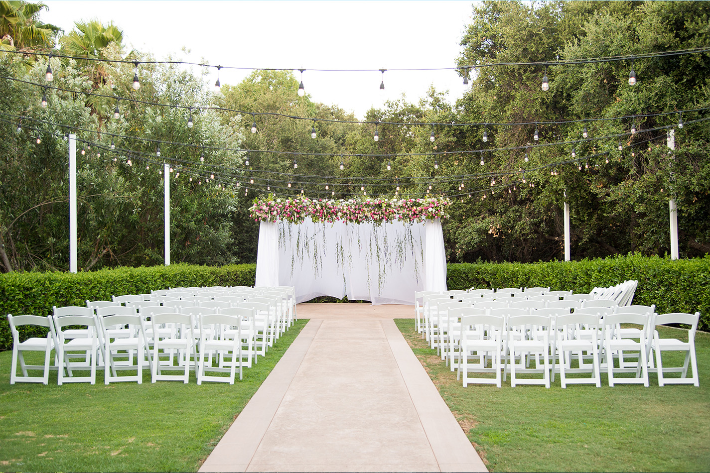 Ceremony site - Sierra La Verne - La Verne, California - Claremont Area - Los Angeles County - Wedgewood Weddings