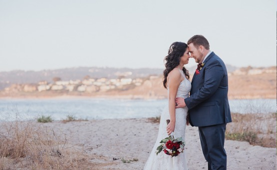 Romantic beach photos - Carmel - Carmel, California - Monterey County - Wedgewood Weddings