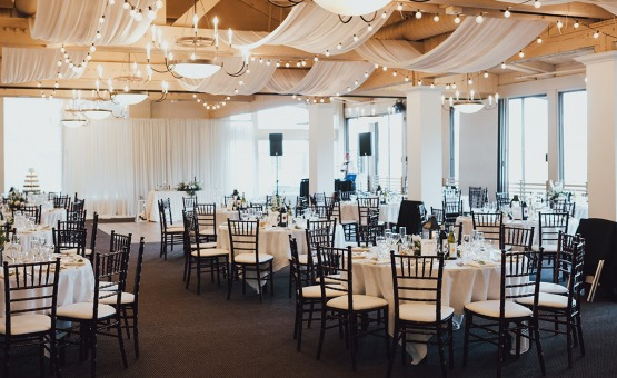 Wedding reception in the Merienda Room - Carmel - Carmel, California - Monterey County - Wedgewood Weddings