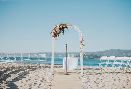 Beach Ceremonies - Carmel - Carmel, California - Monterey County - Wedgewood Weddings