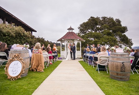 Garden Ceremonies - Carmel - Carmel, California - Monterey County - Wedgewood Weddings