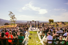 Wedgewood Weddings Boulder Ridge San Jose wedding ceremony